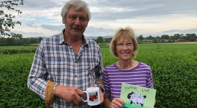 Roy and Mary's Tractor Run fundraising tops £21,000