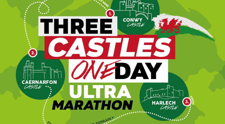 Five fundraisers take on three castles in an ultra marathon challenge!