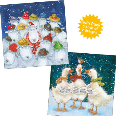 Carol Singing Twin Pack (Bi)