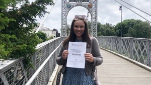 Megan Scoops University Award for Volunteering