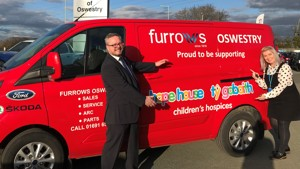 Hospice team on the road thanks to Furrows!