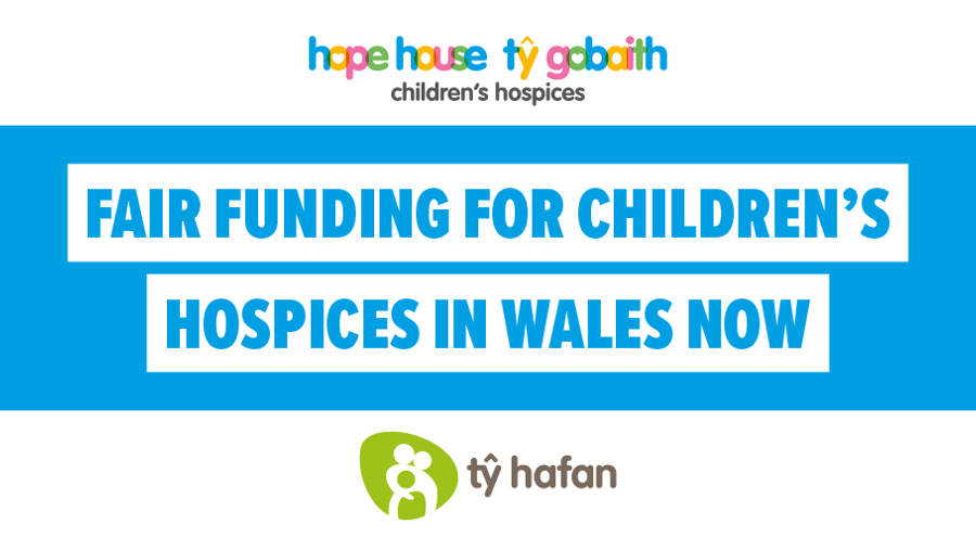Fair funding for children's hospices in Wales now